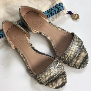 EUC Tory Burch leather shoes